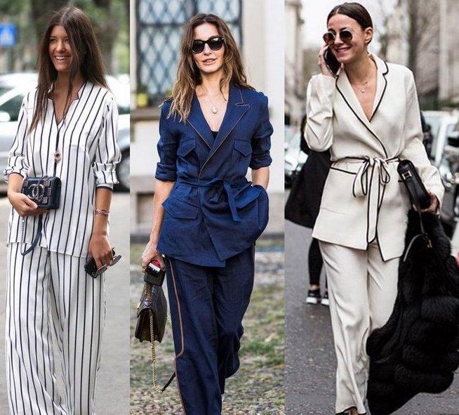 Пижама. Модный тренд