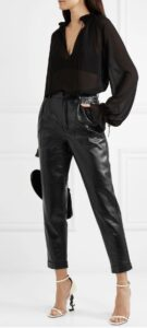 базовый гардероб, черные брюки, как носить черные брюки