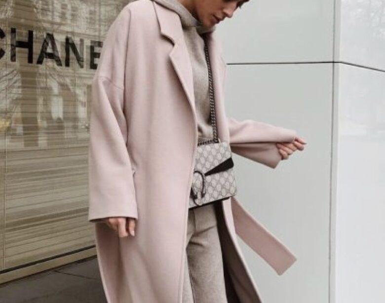 базовый гардероб пальто