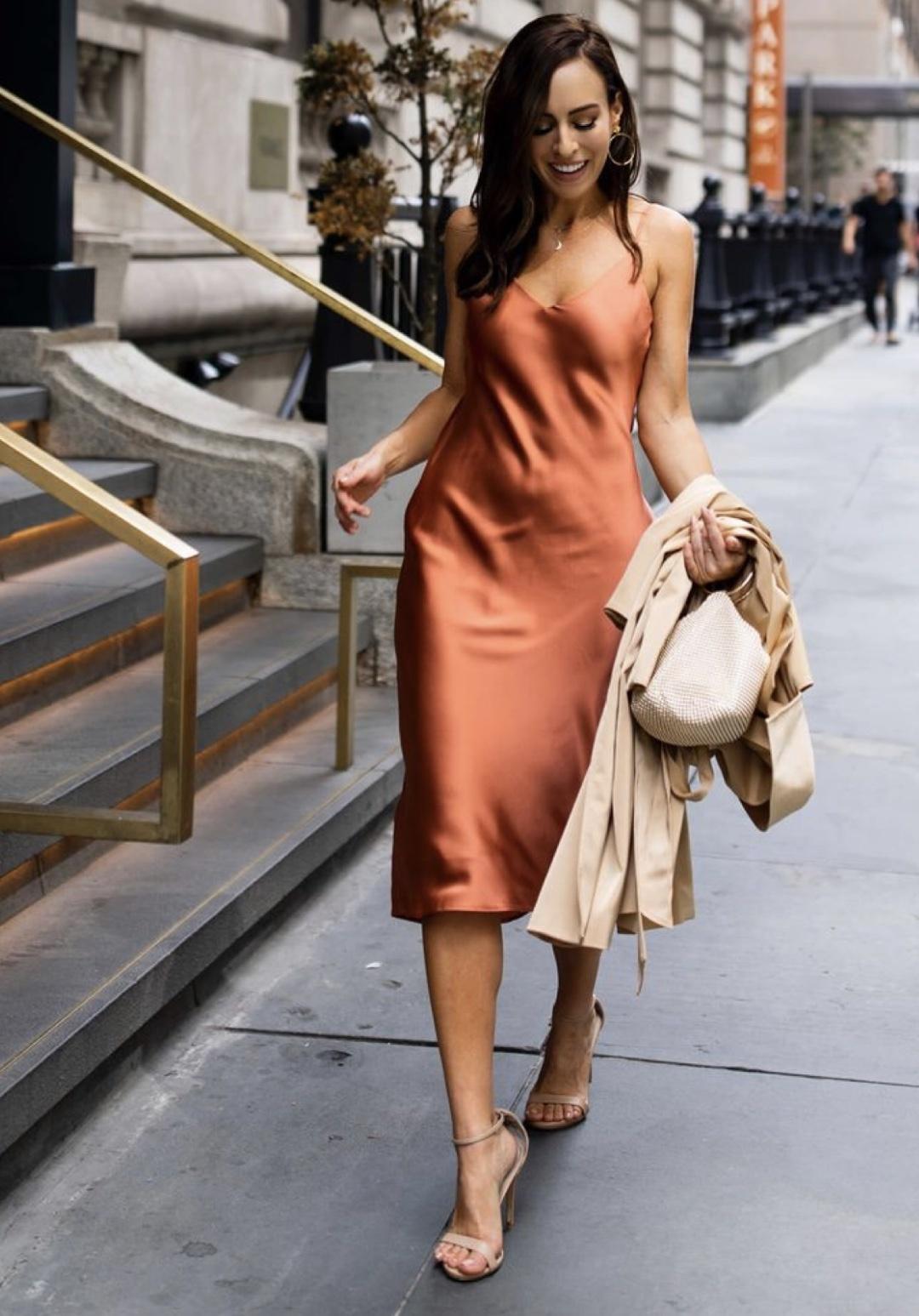 Как носить бельевой стиль?